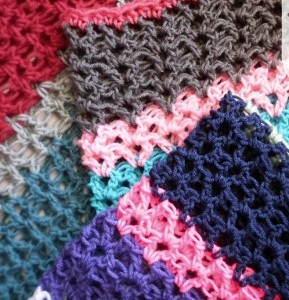 how to crochet a v stitch