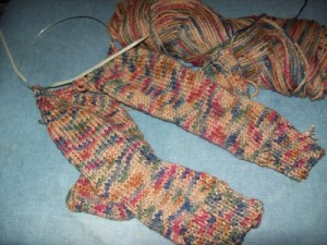 Two Needle Socks - The Spinners Husband