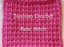 tunisian crocheting