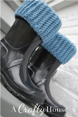 Free Crochet Boot Liners
