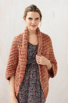 We Could All Use Little Warmth Free Crochet Shrug Pattern The