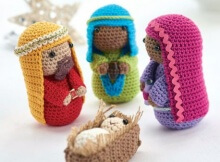 Free Nativity Scene Crochet Pattern - Part 2