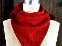Free Knit Dovetail Scarf Pattern