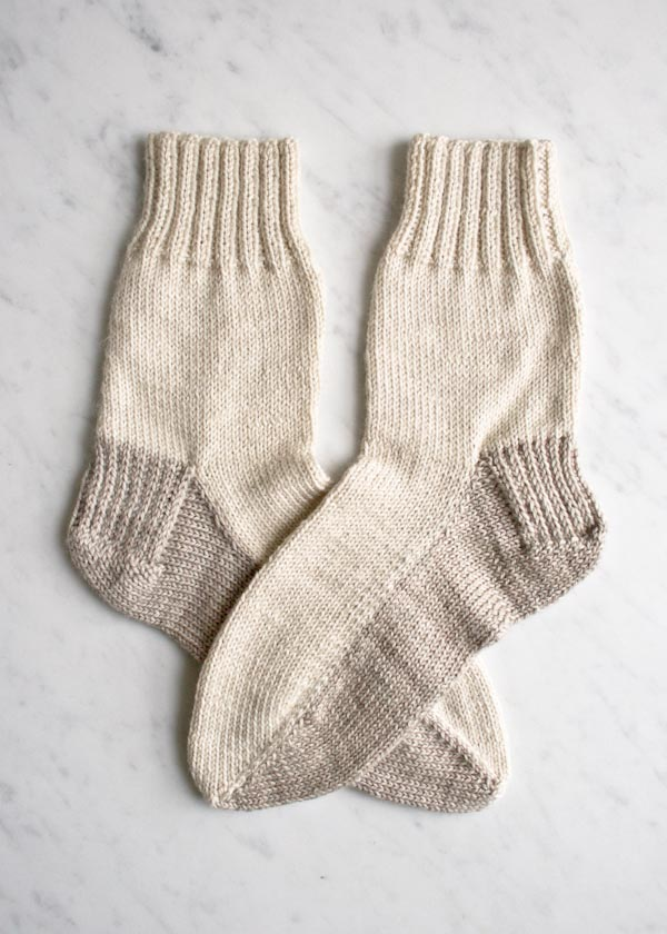 Knit socks with confidence! Free Knit Seamed Sock Pattern - The ...