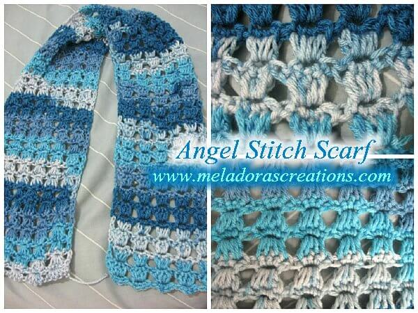 Angel Stitch Free Crochet Tutorial
