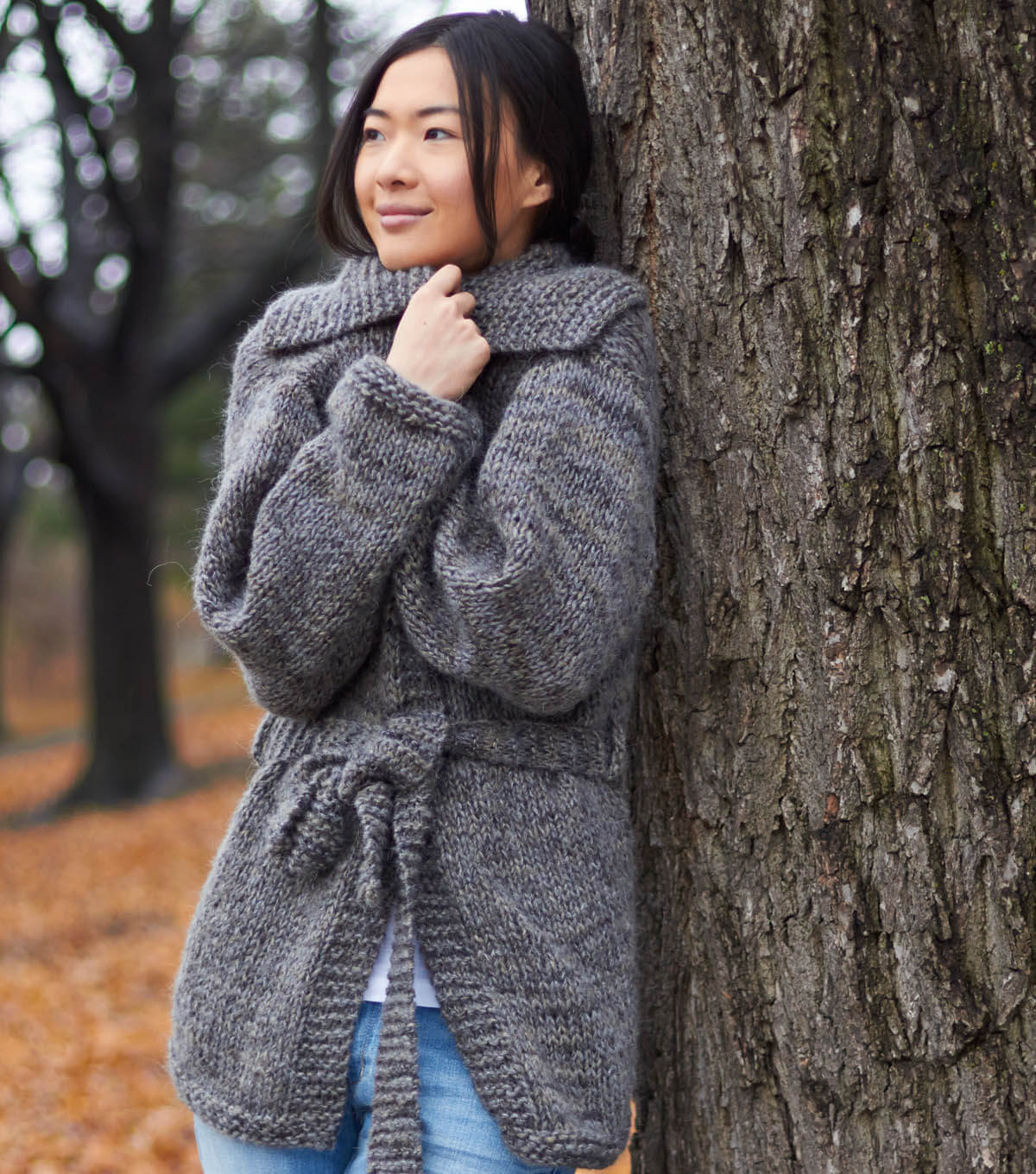 Easy Cardigan Knitting Pattern : Knit this Easy Saturday Cardigan - Free Pattern! - The Spinners Husband