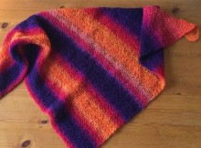 Free Knit Shawl Pattern