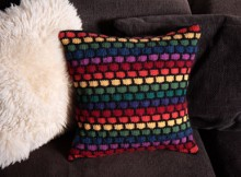 Free Rainbow Stash Buster Cushion