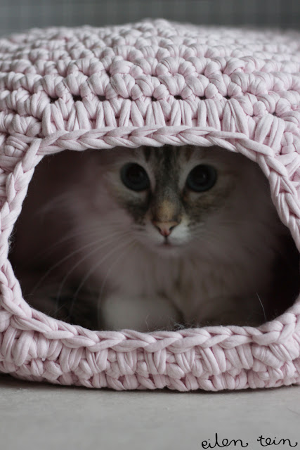 Crochet a Snuggly Cat Pod
