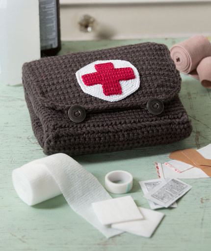 Free Crochet First Aid Kit