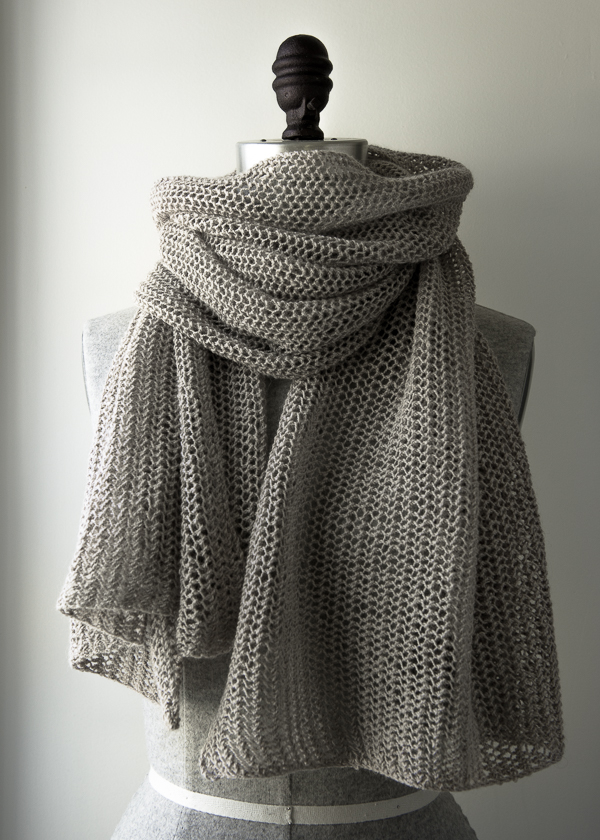 Knit Free Wrap Pattern