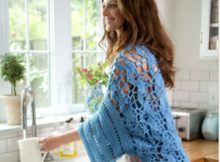 Crochet this Lovely Open Air Shrug