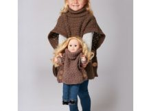 Free Child Sized, Stylish Crochet Poncho!