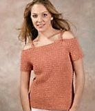 Crochet this Off-the-shoulder Top