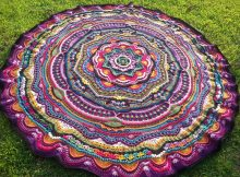 Crochet a long Mandala Madness