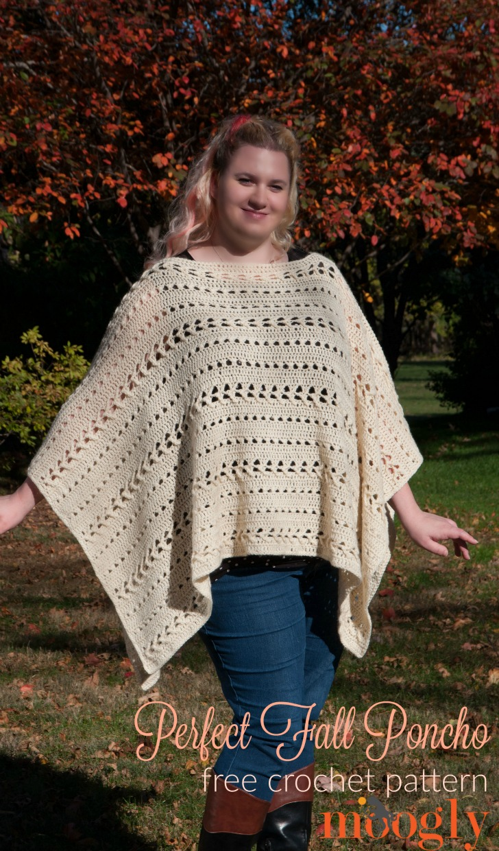 Crochet the Perfect Fall Poncho! - The Spinners Husband
