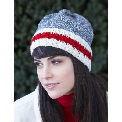 Knit this Work Sock Look Hat