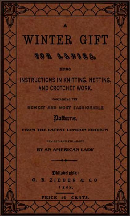1840s Crocheting