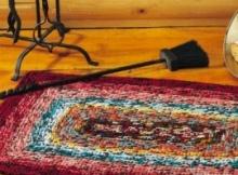 Fall Crochet Rug