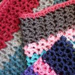 how to crochet a v stitch blanket
