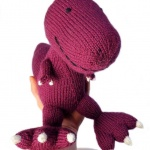 dinasour knitting pattern