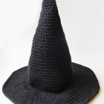 crochet witches hat