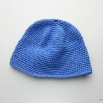 beginners crochet hat