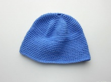 beginners crochet hat