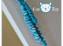 Crochet cat toy