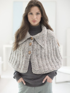 Quick Knit Capelet