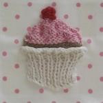knit cupcake