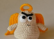 Free Crochet Cranky Angel Pattern