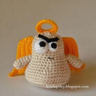 Free Crochet Cranky Angel Pattern