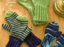 Crochet Mittens for All - Free!
