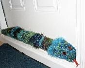 Crochet Draft Snake