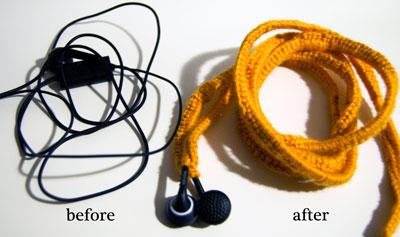 Crochet Ear Bud Covers