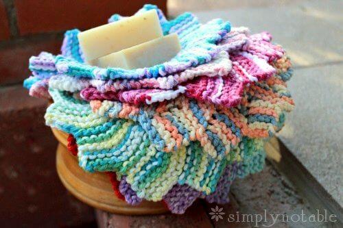 Best Free knit dishcloth pattern