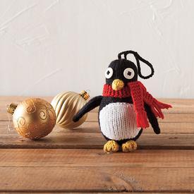 Free Knit Penguin Keychain Pattern
