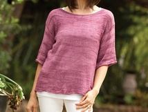 Free Knit Bamboo Sweater Pattern