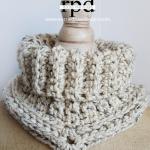 Free crochet cowl pattern