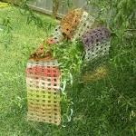 Free Crochet WindowPane Scarf Pattern