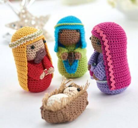 Free Nativity Scene Crochet Pattern - Part 2