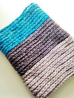 Crochet Not Knit Cowl Pattern