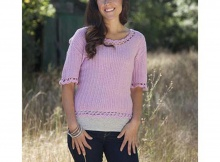 Free Victorian Lace Crochet Sweater Pattern