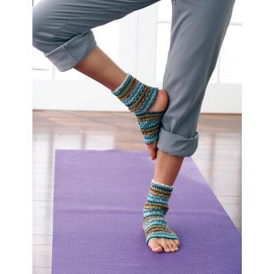 Free Knit Yoga Socks Pattern