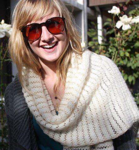 Free Knit Wrap/Scarf Pattern