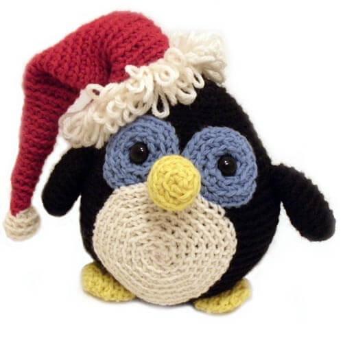 Free Crochet Holiday Penguin Pattern
