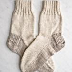 Free Seamed Socks Knit Pattern