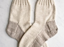 Free Seamed Socks Knit Pattern