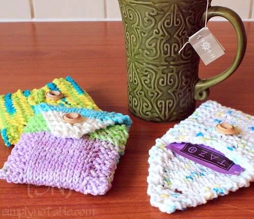 Knit Free Tea Totes Pattern